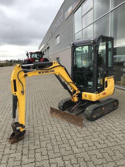 New Holland E18 Minigraver - 2014