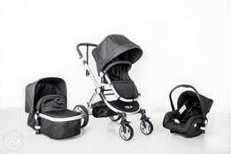 Brand New Boxed NULA baby set(pram ,car seat&bassinet)