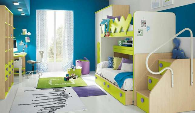 Bedroom Set, comes with decker, staircase and separate chest. Kampala - image 1