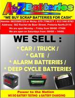 ((A To Z Batteries, Rachel de Beer Street, Pretoria North))