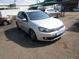 Finance available for 2012 Golf 6 TSI ,silver in color ,111 000km