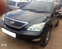 2009 Toyota Harrier very clean accident free black beauty