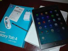 Samsung Galaxy Tab A with stylus Pen