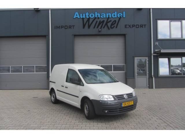 Volkswagen CADDY 51 KW BESTEL 2,0 SDI NIEUWE APK - 2009