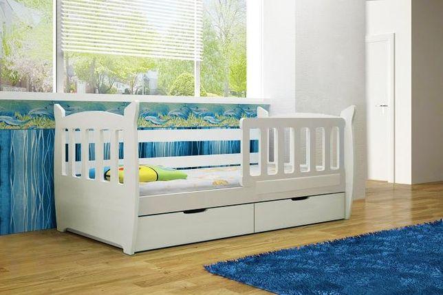 Pojedyncze łóżko Dla Dzieci Kinder Z Barierką Nowość