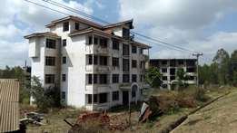 40 unfinished apartments/Thika superhighway