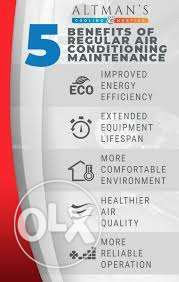 ac maintanace good price