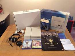 Sony PlayStation 4 Bundle 500GB Uncharted 4 Near Mint 3 Games