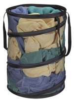 Home Dynamix Pop-Up Laundry Hamper Black, Blue, Brown