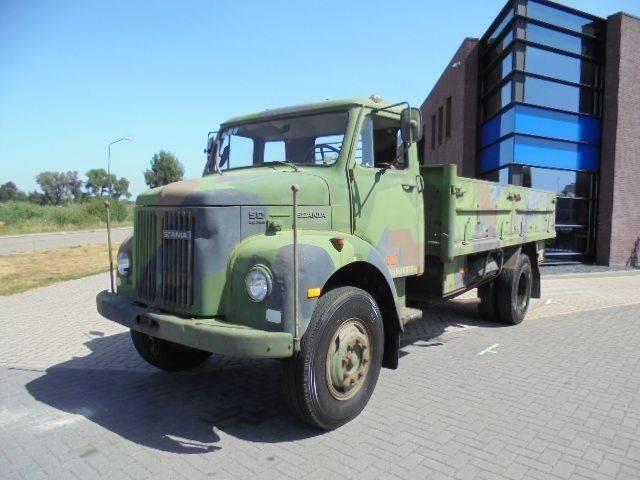 Scania L50 42/C / Army Truck / Full Steel / 48.240 KM - 1972
