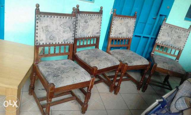 Antique strong dinning seats from germany at 8500ksh each Nairobi CBD - image 3