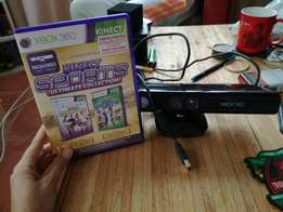 XBOX 360 Kinect with Sports Game