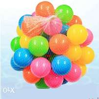 Coloured playing balls for babies