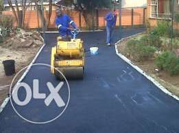 tar surfaces drive ways,brick paving, patches