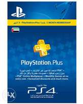 playstation plus 3months