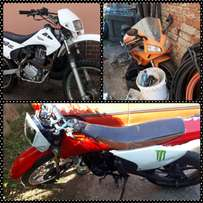 Want to swop my 3x Motorbikes for a car