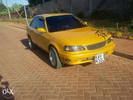 A clean well-maintained Toyota 110 on quick sale