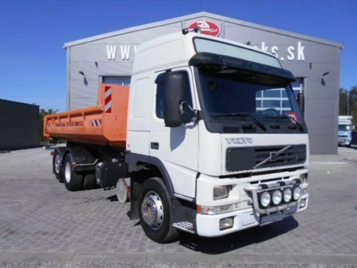 Volvo FM 12 420 GLOBE, Abrol.,Retarder,+container - 2001