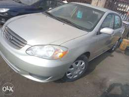 Just Landed 2003 Toyota Corolla