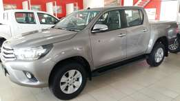 Never again on this price 1 left new Toyota hilux 2.8GD 4X2 manual