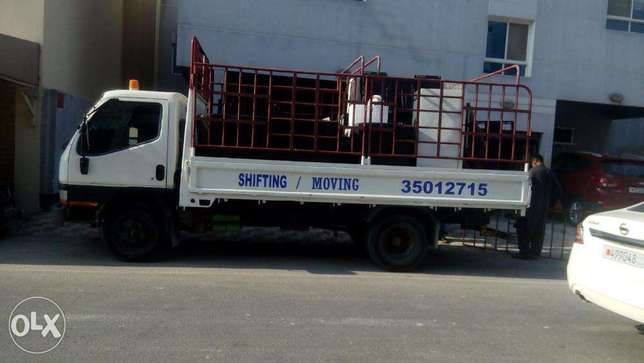 Six wheel For Rent Monthly 400 bhd With driver
