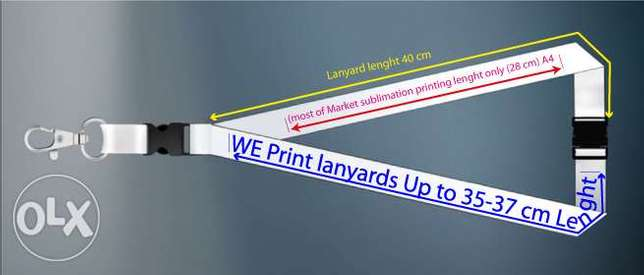 lanyards sublimation printing