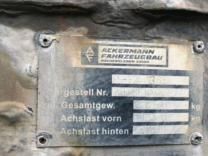 Ackermann PS-F 24/13,6E ZG 3-Achs -Getränke- Lenkachse-LBW - 2004 - image 6
