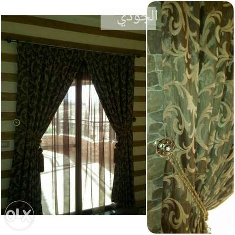 New curtains عل طلب