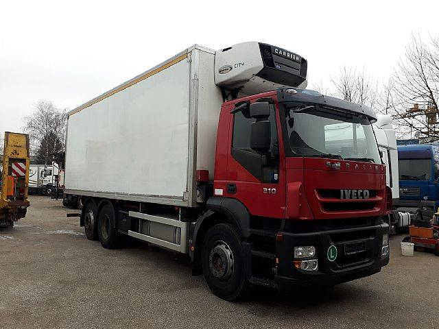 Iveco AD 260S31 Stralis 6x2 Euro5 Carrier - 2009