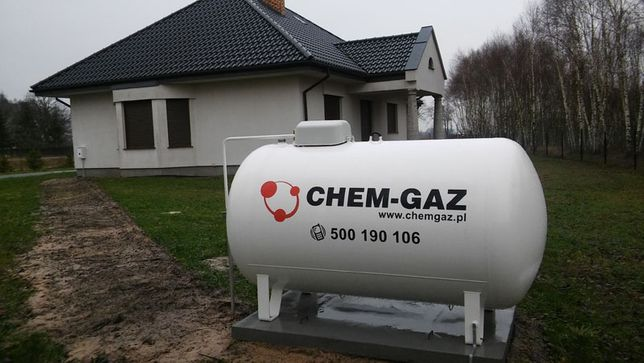 Fantastyczny Zbiornik na gaz 2700 l, butla na GAZ PROPAN BUTAN LPG NOWY NA ZG44