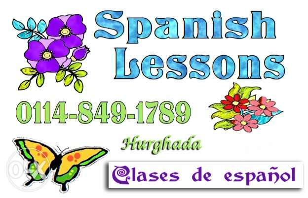 Spanish Lessons - Hurghada