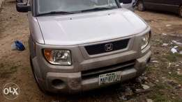 Registered, neatly used 2003 Honda Element available for sale.