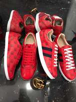 Gucci unisex sneakers - Red