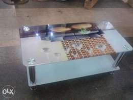 Center unic glass table