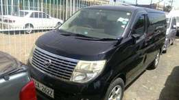 Clean Nissan Elgrand on sale