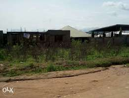 Land plus uncompleted Building for Sale in Lokoja, Kogi state