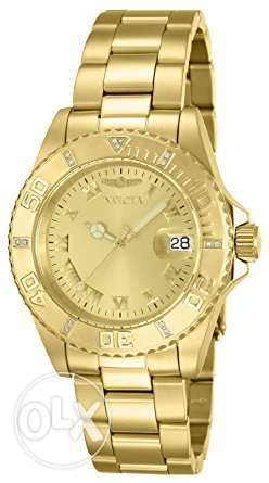 Invicta Women's 12820 Pro Diver Diamond-Accented Gold-Tone Watch
