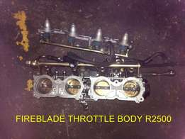 Assorted Superbike carbs and Throttle bodies