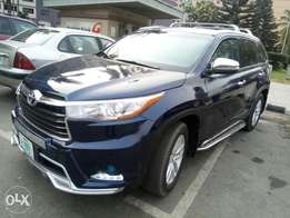 December Registered 2015 Toyota Highlander Limited For N9.5M Only