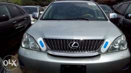 Sharp 2006 Lexus RX330 Full Options (Tokunbo) Silver
