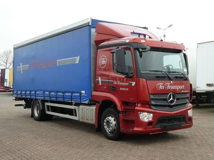 Mercedes-Benz ANTOS 1827 euro 6 lift 1x bed - 2013