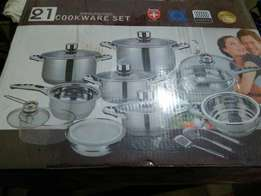 Imported Non-stick Cookware set for sale