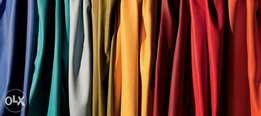 All types of fabric available