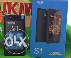 Tecno s1,single SIM black