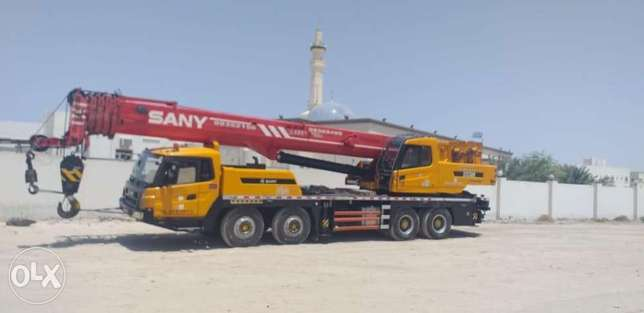 Cranes And Flatbed Trailers are Available For Rent
