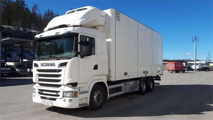 Scania R520 6x2 Fna-kori 08/2020 - 2016