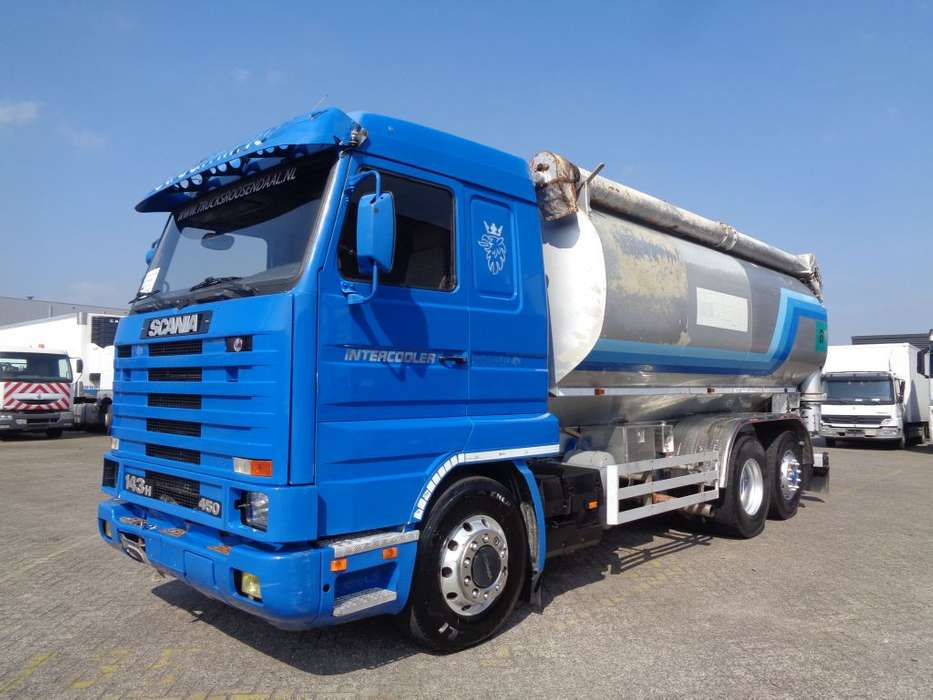 Scania 143H 450 + Manual + 3 compartiments - 1995