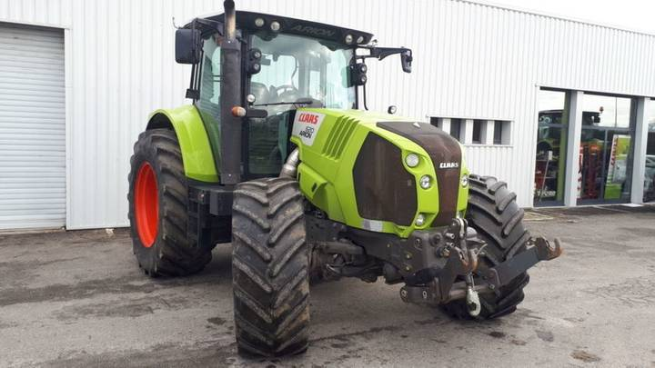 Claas arion 620 cis t4i - 2012