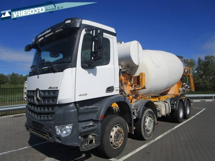 Mercedes-Benz Actros 4142 Big Axle 12M3 - 2016