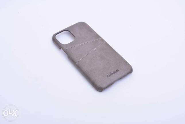 Classic Leather Back Cover Iphone 11